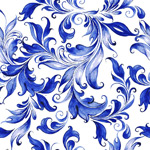 Link toWatercolor flowers seamless background vector