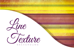 Link toWatercolor horizontal striped background vector