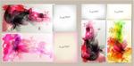 Link toWatercolor ink backgrounds vector