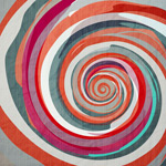 Link toWatercolor spiral backgrounds vector