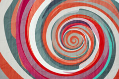 Link toWatercolor spiral stripes background vector
