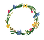 Link toWatercolor wreaths vector