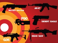 Link toWeapons of war vector free