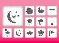 Link toWeather symbols vector free