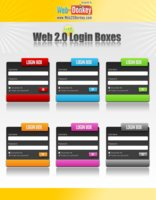 Link toWeb 2.0 login boxes-forms