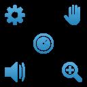 Link toWeb 2.0 blue icons