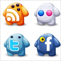 Link toWeb 2.0 icons icons pack