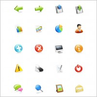 Link toWeb application icons set icons pack