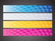Link toWeb banner graphics vector free