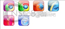Web browser, a desktop icon