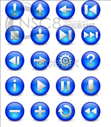 Link toWeb crystal button icons