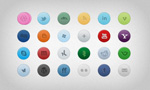 Link toWeb decorative circular icons
