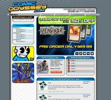 Link toWeb design: comic odyssey