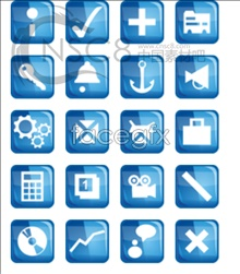 Link toWeb design commonly used small icons