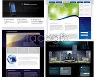 Link toWeb design templates vector