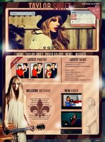 Link toWeb design with taylor swift