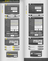 Link toWeb forms v3.0 layered psd