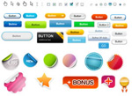 Link toWeb icons buttons