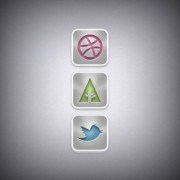 Link toWeb media icons psd