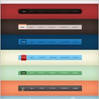 Link toWeb navigation design 01psd layered