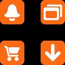 Link toWeb orange buttons