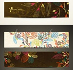 Link toWeb page banners vector