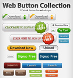 Link toWeb page buttons collection