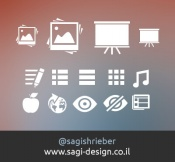 Link toWeb page icons design source files