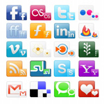 Link toWeb page icons