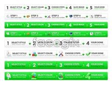 Link toWeb page navigation psd