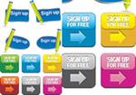 Link toWeb page registration label button