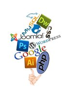 Link toWeb programming, logos, psd