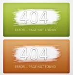 Link toWeb site 404 web page interface