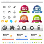 Link toWeb site layout and icons