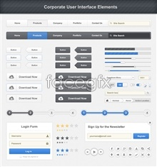 Link toWeb site navigation design psd source file