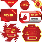 Link toWeb site promotional labels