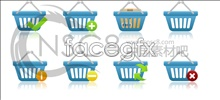 Link toWeb site shopping cart small icons