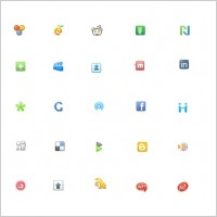 Link toWeb social icons icons pack