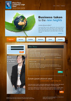 Link toWeb template for sale