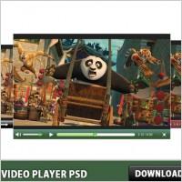 Link toWeb video player psd