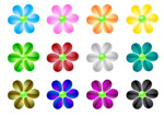 Link toWeb2.0 crystal flowers