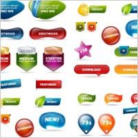Link toWebsite banner design psd button