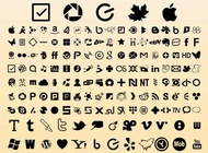 Link toWebsite icons vector free