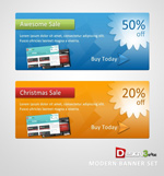 Link toWebsite promotional banners