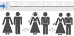Link toWedding figures vector