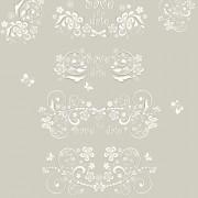 Link toWedding ornament elements vector free