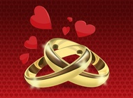 Link toWedding rings vector free