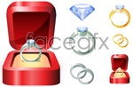 Link toWedding rings-vector