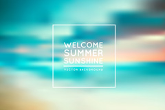 Link toWelcome summer poster background vector map