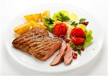 Link toWestern beef steak, picture